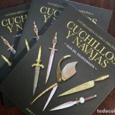 Livros: LIBRO CUCHILLOS Y NAVAJAS ANTIGUOS. GUÍA DEL COLECCIONISTA. JOSÉ B. RUIZ.. Lote 232457415