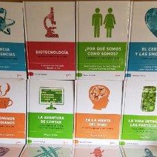 Libros: DESCUBRIR LA CIENCIA / CONJUNTO DE 15 LIBROS DE LA COLECCIÓN / TODOS PRECINTADOS / OPORTUNIDAD.. Lote 200729301