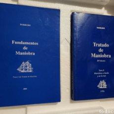 Libros: BARBUDO TRATADO DE MANIOBRA. TOMO I Y II.. Lote 201306453