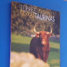 Livres: LIBRO / TIERRAS TAURINAS Nº 36. Lote 201771147