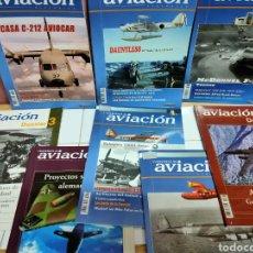 Libros: PACK 8 REVISTAS NUEVAS AVIACIÓN Y AVIONES. Lote 202401198