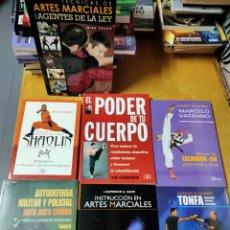Libros: LOTE LIBROS NUEVOS DE ARTES MARCIALES. Lote 202566887