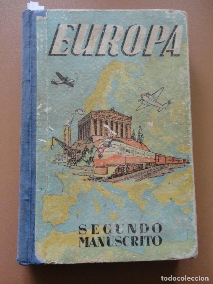EUROPA SEGUNDO MANUSCRITO DALMAU CARLES (Libros Nuevos - Ciencias, Manuales y Oficios - Otros)