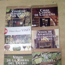 Libros: 6 LIBROS ENOLOGIA DE VINOS DE ESPAÑA. SUSAETA -EN PAPEL COUCHÉ-SIN USO. Lote 204697475