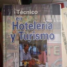 Libros: TECNICO DE HOTELERIA Y TURISMO, 2 TOMOS. Lote 204733501