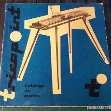 Libros: ANTIGUO CATALOGO PUNTOS DE TRICOTOSA DE 1961. BERIVAL.. Lote 204754345