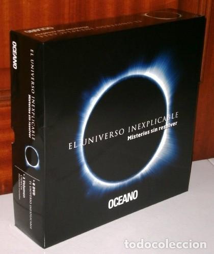 EL UNIVERSO INEXPLICABLE (MISTERIOS SIN RESOLVER) LIBRO + 6 DVD / EDICIONES OCÉANO EN BARCELONA 2012 (Libros Nuevos - Ciencias, Manuales y Oficios - Otros)