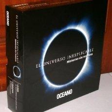 Libros: EL UNIVERSO INEXPLICABLE (MISTERIOS SIN RESOLVER) LIBRO + 6 DVD / EDICIONES OCÉANO EN BARCELONA 2012. Lote 205085646