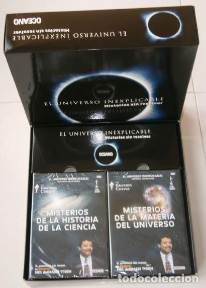 Libros: El Universo Inexplicable (Misterios sin resolver) Libro + 6 DVD / Ediciones Océano en Barcelona 2012 - Foto 2 - 205085646