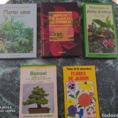 Libros: MANUAL PRÁCTICO PLANTAS..LOTE 5 LIBROS. Lote 205847095