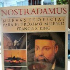 Libros: MOSTRADAMUS NUEVAS PROFECÍAS PARA EL PRÓXIMO MILENIO. Lote 206936433