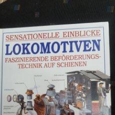 Libros: LOKLMOTIVEN. LIBRO DEDICADO A LOCOMOTORAS. EDITORIAL GONDROM 1997.. Lote 207075235