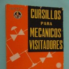 Libros: ANTIGUO LIBRO DE CURSILLOS PARA MECANICOS VISITADORES DE BUTANO Y PROPANO. Lote 208419610