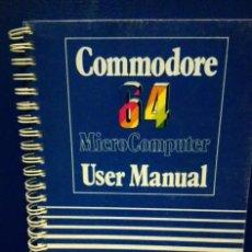 Libri: COMMODORE 64- USER MANUAL. EDICIÓN EN INGLÉS.. Lote 208685228