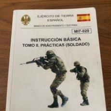 Livros: INSTRUCCIÓN BÁSICA DEL SOLDADO. Lote 208807456