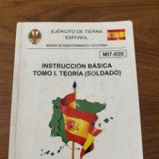 Livros: INSTRUCCIÓN BÁSICA DEL SOLDADO. Lote 208807602
