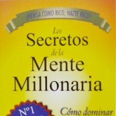 Livros: LOS SECRETOS DE LA MENTE MILLONARIA. Lote 208937225