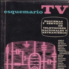 Libros: ESQUEMARIO TV COLOR TVC Nº XI DEPOSITO LEGAL 1964 EDICIONES TECNICAS REDE AÑO 1975. Lote 209342872