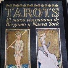Libros: TAROTS. EL MAZO VISCONTIANO DE BERGAMO Y NUEVA YORK..1986..ITALO CALVINO. MILÁN 1ª EDICION NUMERADA. Lote 210546325