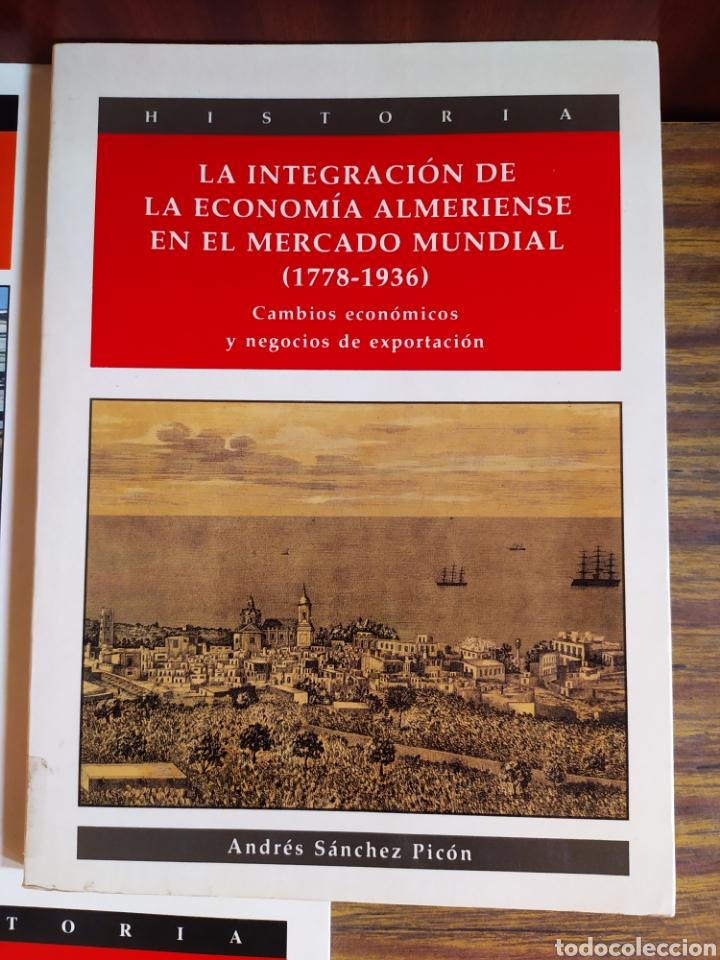 Libros: Lote de 5 tomos instituto de estudios almerienses colección investigación - Foto 4 - 210722171