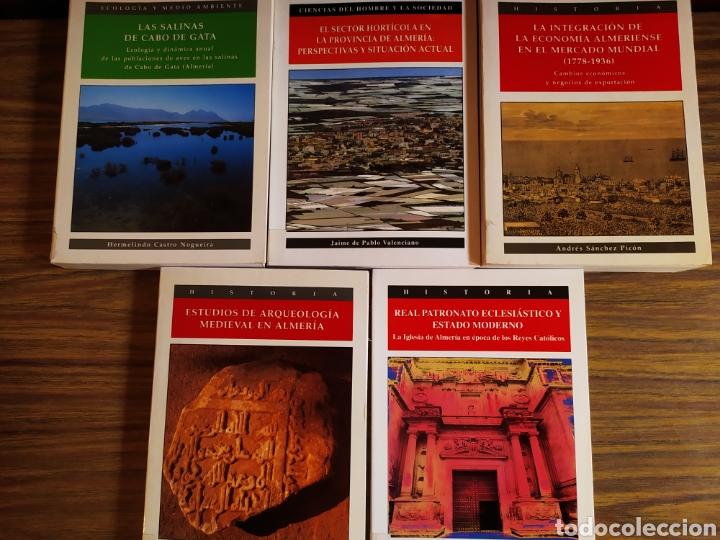 LOTE DE 5 TOMOS INSTITUTO DE ESTUDIOS ALMERIENSES COLECCIÓN INVESTIGACIÓN (Libros Nuevos - Ciencias, Manuales y Oficios - Otros)