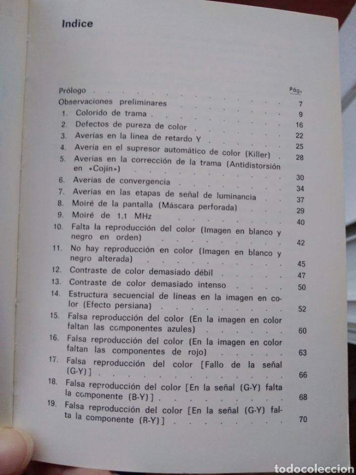 Libros: LOCALIZACION DE AVERIAS DE TV COLOR POR ANALISIS DE LA IMAGEN,marcombo,boixareu,tv color,electronica - Foto 4 - 151073702