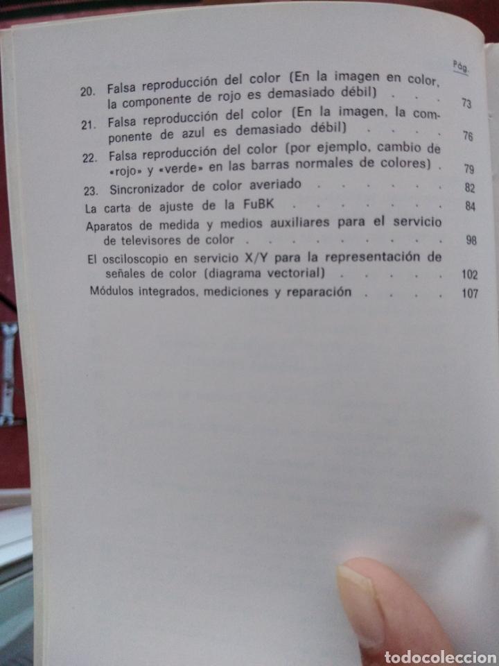 Libros: LOCALIZACION DE AVERIAS DE TV COLOR POR ANALISIS DE LA IMAGEN,marcombo,boixareu,tv color,electronica - Foto 5 - 151073702