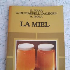 Libros: LA MIEL, ESICIONES MUNDI-PRENSA AÑOS 1988. Lote 212690637