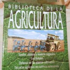 Libros: BIBLIOTECA DE LA AGRICULTURA, 3 TOMOS, NUEVO. Lote 212734920