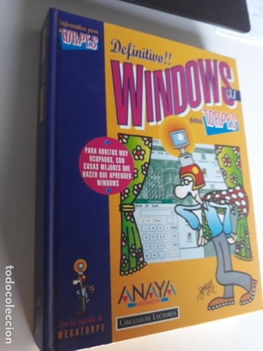 WINDOWS 3.1 PARA TORPES EDICIONES ANAYA 1994 TAPA DURA (Libros Nuevos - Ciencias, Manuales y Oficios - Otros)