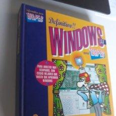 Libros: WINDOWS 3.1 PARA TORPES EDICIONES ANAYA 1994 TAPA DURA. Lote 212887742
