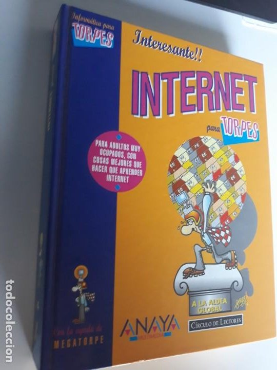 INTERNET PARA TORPES EDICIONES ANAYA 1996 TAPA DURA (Libros Nuevos - Ciencias, Manuales y Oficios - Otros)