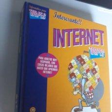Libros: INTERNET PARA TORPES EDICIONES ANAYA 1996 TAPA DURA. Lote 212888235