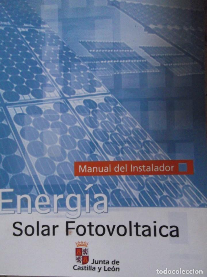 CURSO ENERGIA SOLAR FOTOVOLTAICA (Libros Nuevos - Ciencias, Manuales y Oficios - Otros)