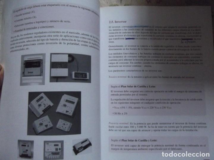 Libros: Curso ENERGIA SOLAR FOTOVOLTAICA - Foto 5 - 213891237