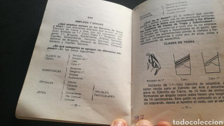 Libros: MANUAL DE UN RECLUTA - TENIENTE CORONEL DE AVIACION - GERMÁN RODRÍGUEZ GONZÁLEZ - Foto 4 - 216805713