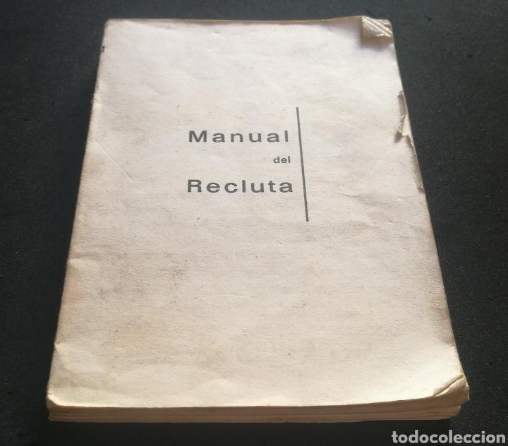 MANUAL DE UN RECLUTA - TENIENTE CORONEL DE AVIACION - GERMÁN RODRÍGUEZ GONZÁLEZ (Libros Nuevos - Ciencias, Manuales y Oficios - Otros)