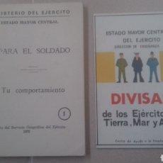 Libros: MANUAL PARA EL SOLDADO 1975. Lote 217026078