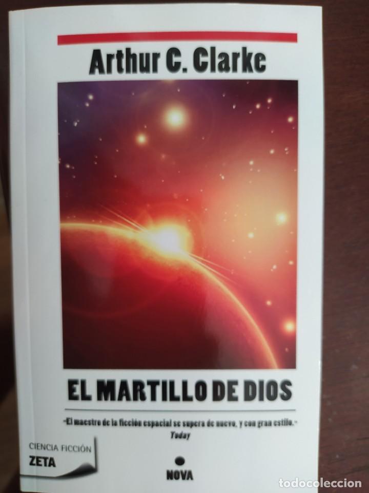 BEST SELLER CIENCIA FICCION EL MARTILLO DE DIOS. ARTHUR C. CLARKE. ENVIO CERTIFICADO INCLUIDO (Libros Nuevos - Ciencias, Manuales y Oficios - Otros)