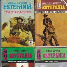 Libros: 12 NOVELAS DE MARCIAL LAFUENTE ESTEFANIA. Lote 217218310
