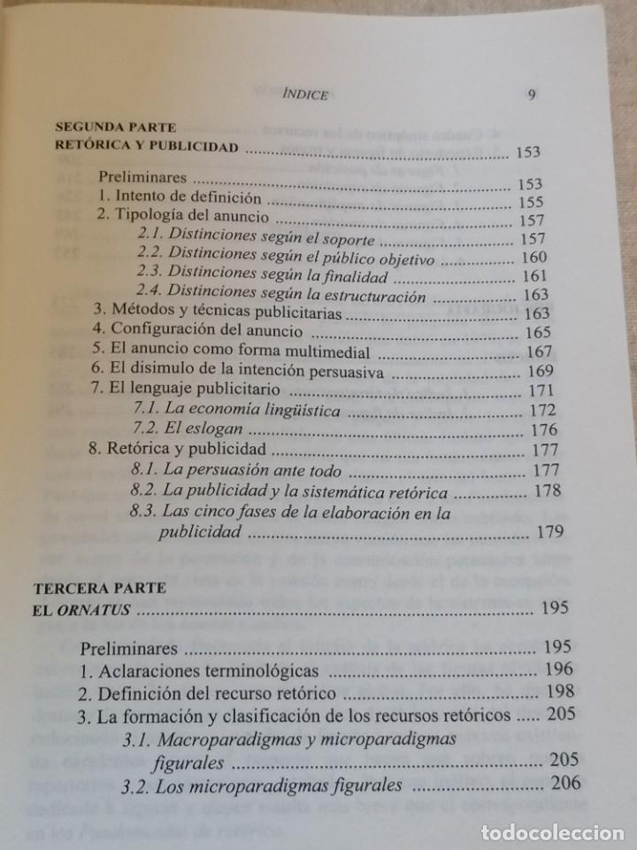Libros: PERSUASIÓN - FUNDAMENTOS DE RETÓRICA - KURT SPANG - ED. UNIVERSIDAD DE NAVARRA - 2005 - Foto 7 - 217851441