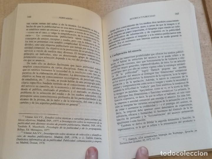 Libros: PERSUASIÓN - FUNDAMENTOS DE RETÓRICA - KURT SPANG - ED. UNIVERSIDAD DE NAVARRA - 2005 - Foto 10 - 217851441