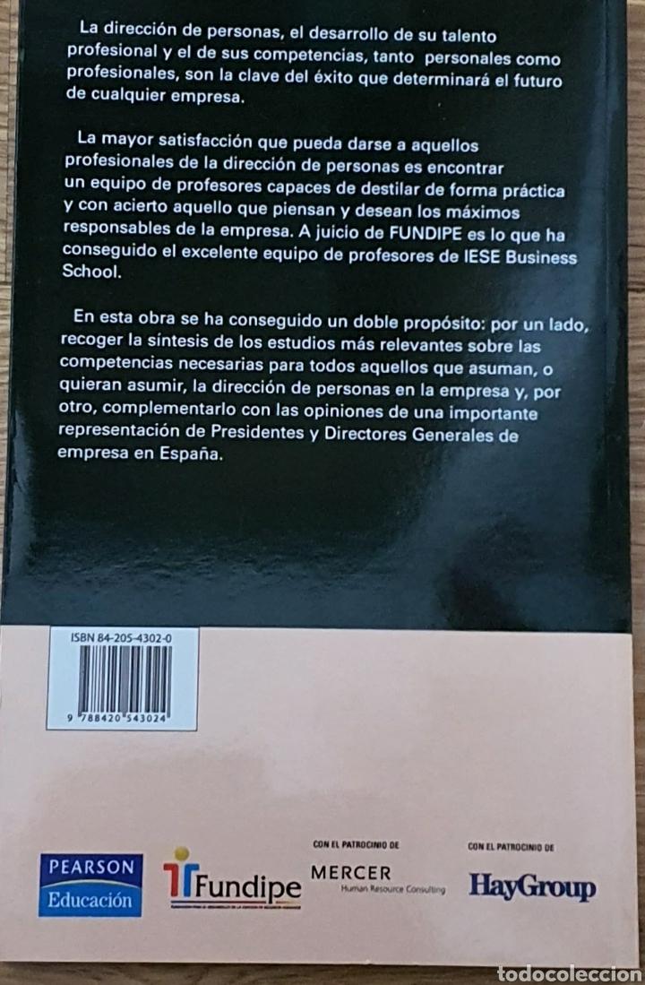 Libros: Co. Petencias de la dirección de personas. Javier Quintanilla - Foto 2 - 218326412