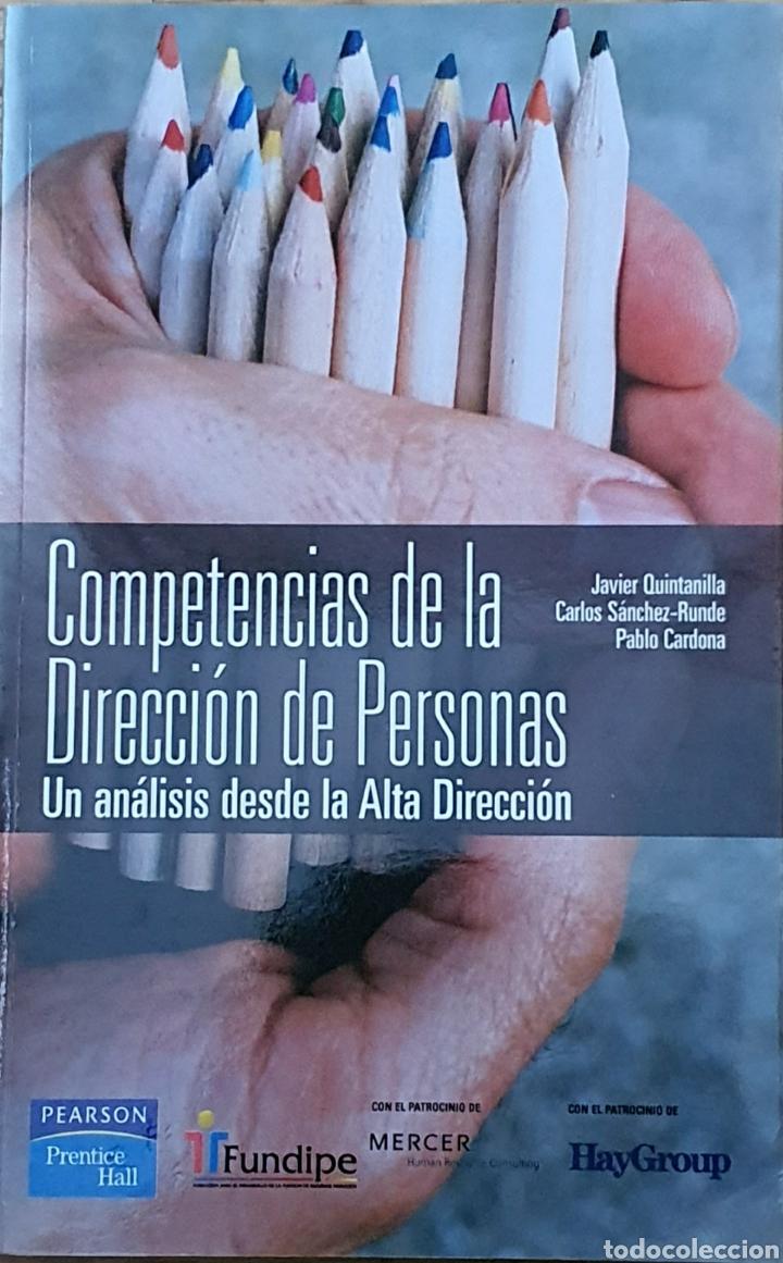 CO. PETENCIAS DE LA DIRECCIÓN DE PERSONAS. JAVIER QUINTANILLA (Libros Nuevos - Ciencias, Manuales y Oficios - Otros)