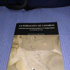 Libros: LIBRO LA POBLACION DE CANARIAS. Lote 218738363