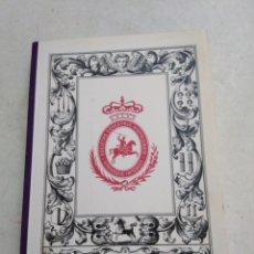 Libros: NOBLEZA Y RETRATO ECUESTRE EN EL ARTE. Lote 220434051