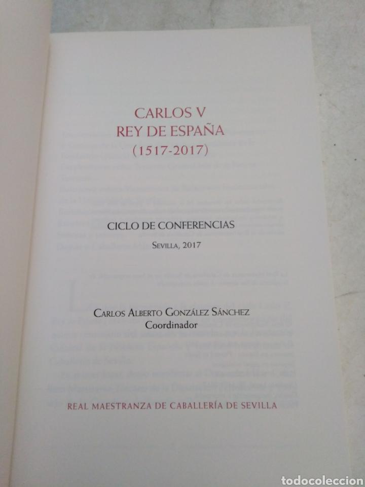 Libros: Carlos V Rey de España ( 1517-2017 ) - Foto 3 - 220434453