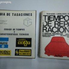 Libros: GUIA DE TASACIÓN Y REPARACIÓN AUTOMOVIL ANTIGUOS COCHES. Lote 221462308