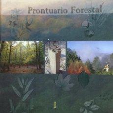 Libros: PRONTUARIO FORESTAL (2 VOLÚMENES) E.T.S.I. MONTES. NUEVO. Lote 221752528