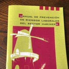 Libros: MANUAL PRL EN SECTOR HARINERO. Lote 222012206